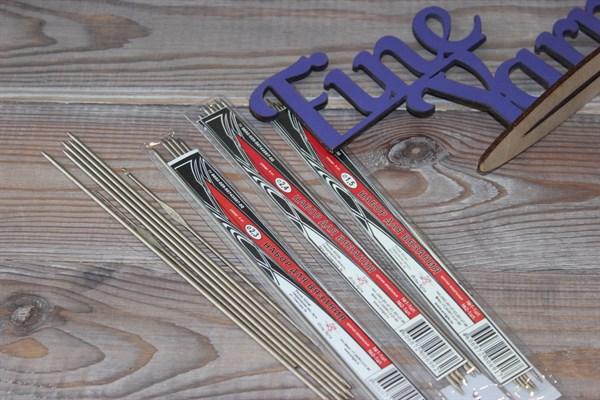 Набор для вязания спицы чулочные 5 шт. и крючки 2шт. - фото 30136