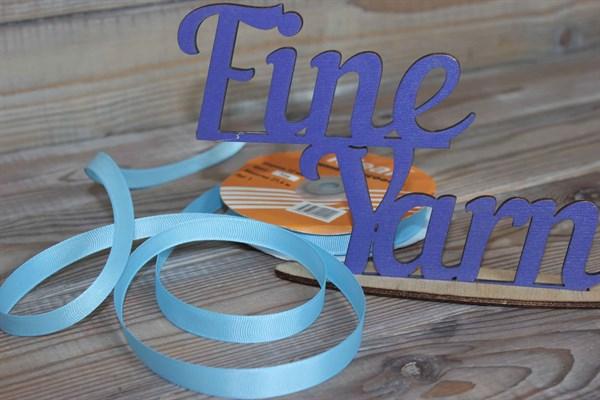 Лента Ideal репсовая 12 мм 308 светло голубой - фото 33142