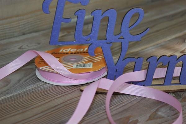 Лента Ideal репсовая 12 мм 148 холодный розовый - фото 33143