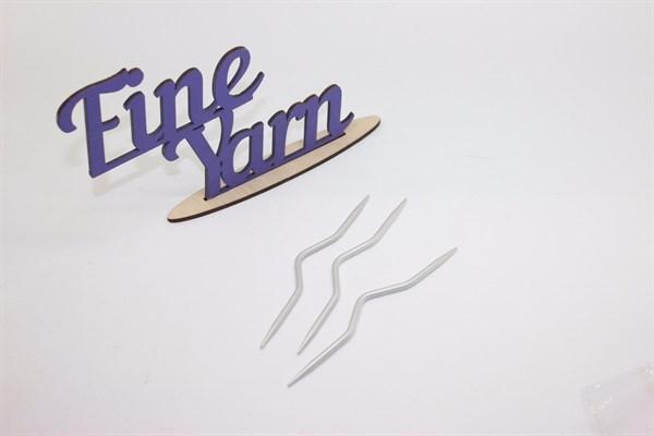 Спицы вспомогательные для вязания косичек тефлон - фото 34525