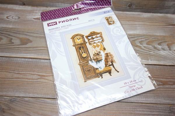 Набор для вышивания Риолис Часы 858 - фото 37627