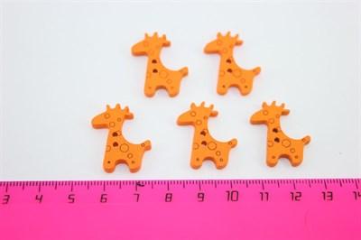 Жирафы деревянные