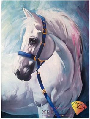 """Картина стразами (набор) """"Грезы белого коня"""""""