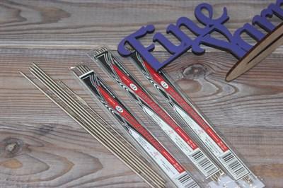 Набор для вязания спицы чулочные 5 шт. и крючки 2шт.