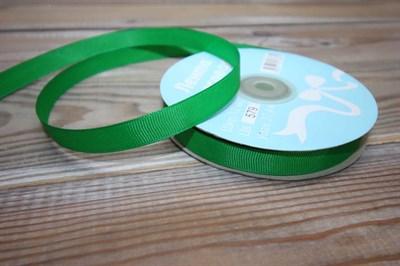 Лента Ideal репсовая 12 мм зеленый