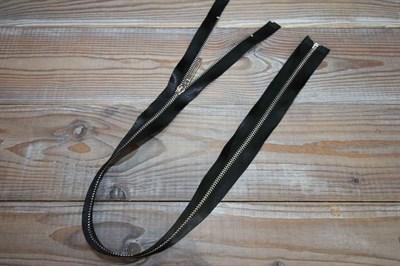 Молния металл № 3 атласная тесьма 60 см