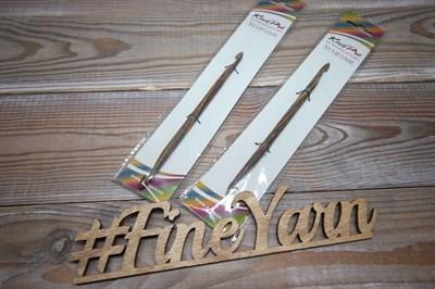 Крючок деревянный двухсторонний KnitPro