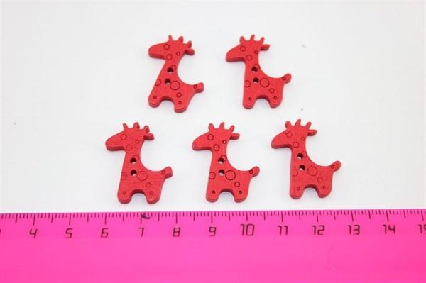 Жирафы деревянные - фото 11702