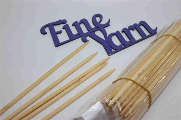 Чулочно-носочные бамбуковые спицы 20 см - фото 16168