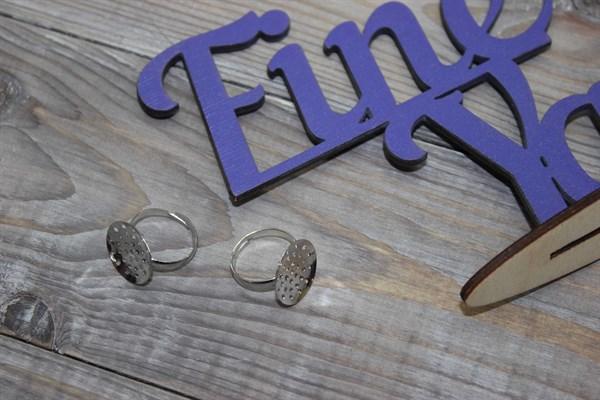 Заготовка для кольца никель - фото 21639