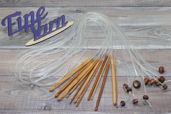 Тунисский бамбуковый крючок - фото 22059