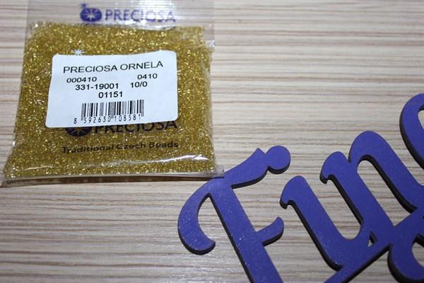 Бисер Preciosa №10 (Прециоса) 50 гр № 01151 - фото 22561