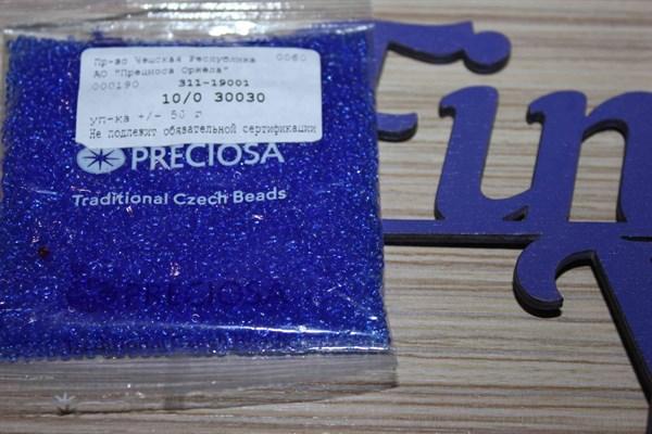Бисер Preciosa №10 (Прециоса) 50 гр № 30030 - фото 22706