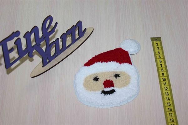 Аппликация нашивка Дед Мороз - фото 24614