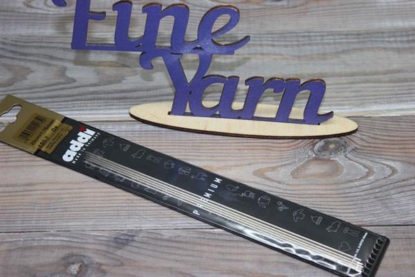 Адди (Addi) спицы чулочные  стальные 20 см - фото 26558