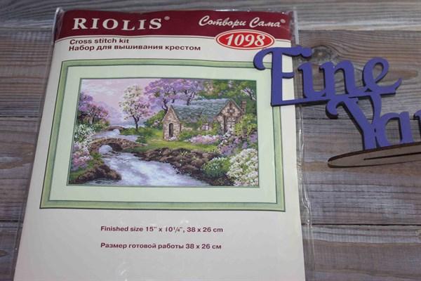 """Набор для вышивания крестом """"Весенний пейзаж"""" СС-1098 - фото 26844"""