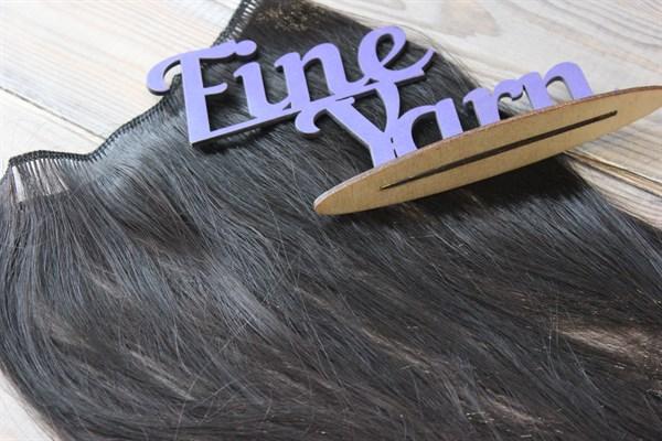 Трессы(искусственные волосы) прямые длина 30 см шир.50см - фото 30142