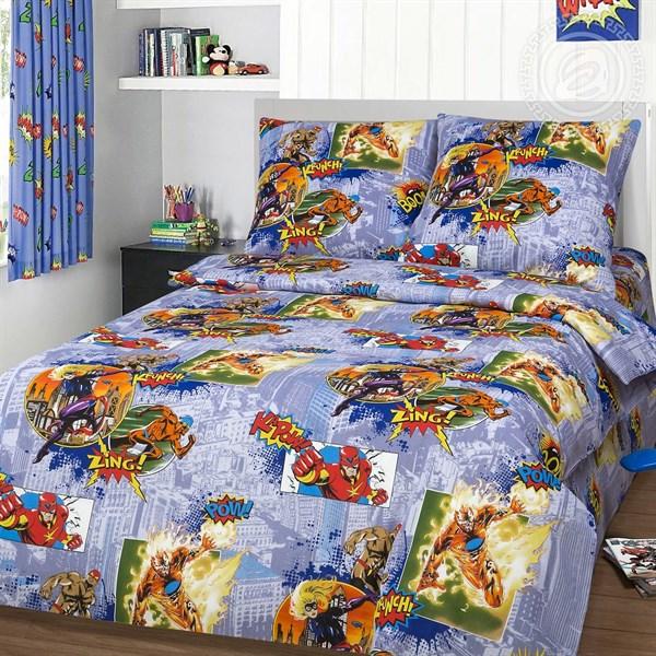 """Бязь для постельного белья 150 """"Супергерои"""" - фото 33431"""