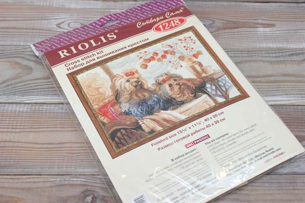 """Набор для вышивания Риолис 1248  """"Домашние любимцы"""" - фото 35514"""