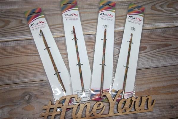 Крючок деревянный KnitPro - фото 38057