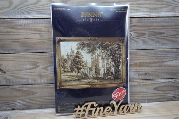 """Набор для вышивания PANNA """"Золотая серия"""" арт. ГМ-1126 В парке замка Шенонсо 33,5*48,5 см - фото 38506"""