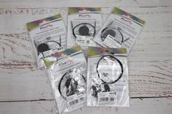 Тросик Knit Pro (Тросик для спиц Кни Про) цвет черный - фото 43198