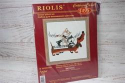 Набор для вышивания Риолис арт.1495 Такса-блюз 20*20 см - фото 43476