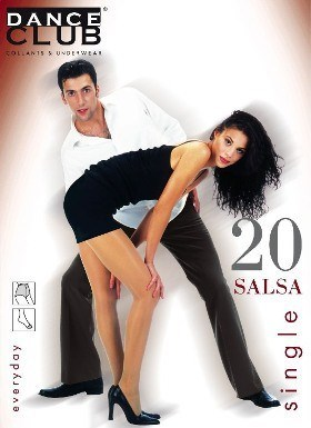 Колготки Dance Club Salsa 20 Single