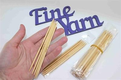 Чулочно-носочные бамбуковые спицы 13 см