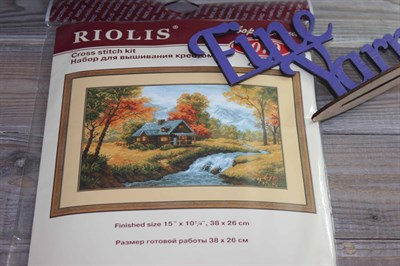 """Набор для вышивания крестом """" Осенний пейзаж"""" 1079"""