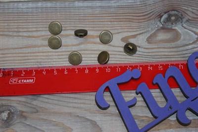 Пуговицы арт LA 1372 антик 14 мм