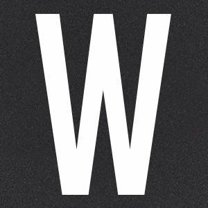Термотрансфер Буква W