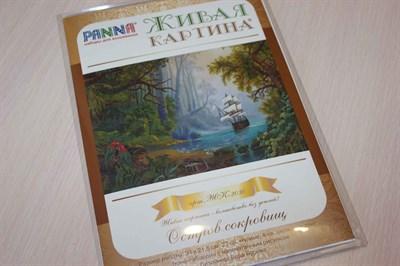 Набор для вышивания PANNA ЖК 2030 Остров сокровищ