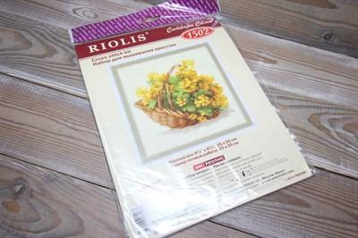 Набор для вышивания Риолис 1502 Немецкий рапс