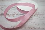 Тесьма киперная металлизированная 16 мм полиэстер розовый