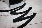 Резинка бельевая ажурная 16 мм черный