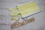 Косая бейка (эластичная лента) трикотаж цветная 1,5 см