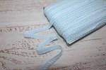 Резинка бельевая ажурная 12 мм голубой
