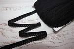 Резинка бельевая ажурная 12 мм черный