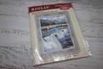 Набор для вышивания Риолис 662 Лебеди 26*38 см