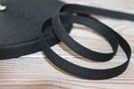 Тесьма киперная хлопок 10 мм черный