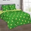 Поплин для постельного белья Амиго (авокадо) 220 см