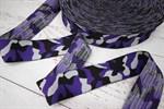 Резинка мягкая Камуфляж фиолет 40 мм