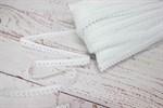 Резинка бельевая ажурная белый 12 мм