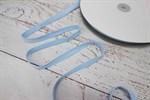 Тесьма киперная хлопок 10 мм голубой