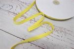 Тесьма киперная 10 мм хлопок желтый