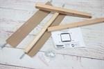 Пяльцы - рамка со шпилькой бук размер 30*30 см