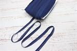 Резинка бельевая ажурная 12 мм синий сапфир