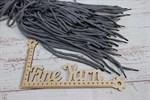 Шнурки круглые двухцветные 130 см